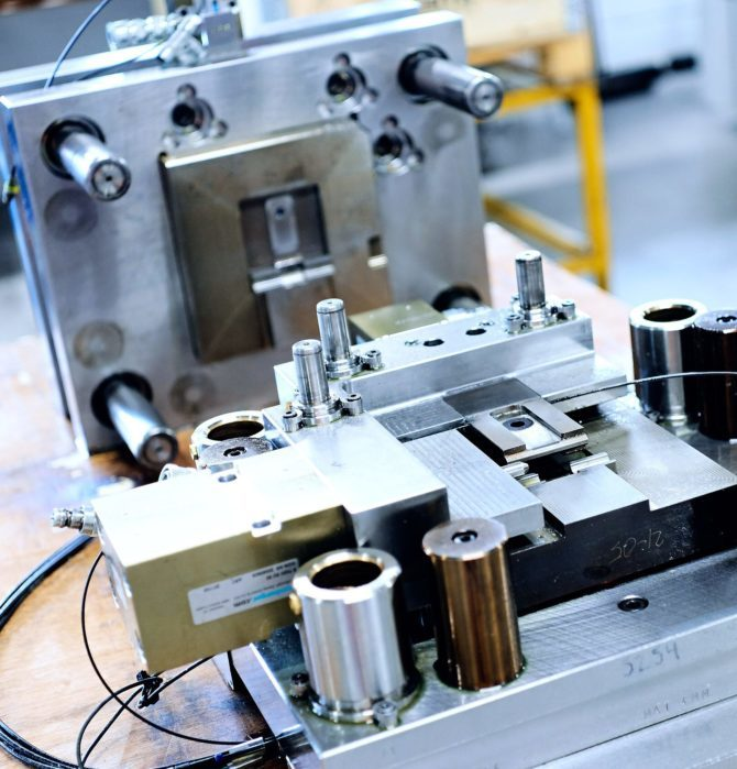 Werkzeugherstellung im stahl