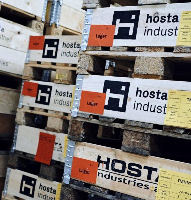 Lager kapacitet og lagerløsning i stål - Hosta