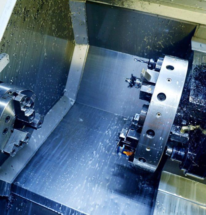 CNC-drehen aus stahl